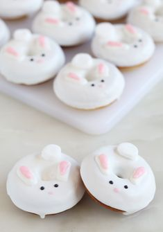 Bunny Donuts #donuts #dessert #easter