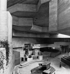 Holy Cross Church, Chur, Switzerland, 1964-69