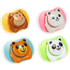 Baby Pacifier Soother Silicone Dummy Baby Pacifier Teether Soother Nipples - Baby-tools
