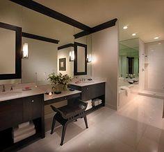 Impressive Ideas: Bathroom Remodel Green Counter Tops master bathroom remodel Remodel Country Toilets bathroom remodel on a budget wall treatments. Bathroom Interior Design, Decor Interior Design, Interior Doors, Bathroom Safety, Shower Cabin, Floating, Home Safety, Bath Remodel, Bathroom Remodeling