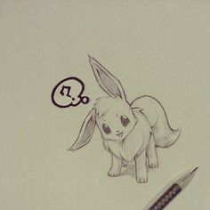 Eevee sketch by itsbirdy