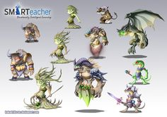 Prodigy Earth Monsters by Dragolisco