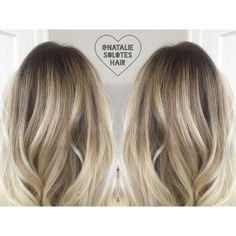 Shadow root rooted blonde bronde soft seamless lived in haircolor and haircut…