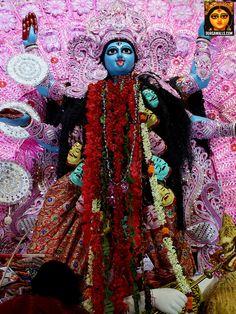 Kali puja celebration pictures of various pujas in South Kolkata. Kali Puja, Durga Kali, Durga Puja, Navratri Images, Kali Goddess, Navratri Special, Krishna Art, Indian Gods, Hd Photos