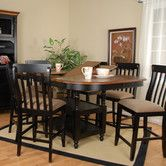 Found it at Wayfair - Alta Vista 7 Piece Counter Height Dining Set- like table-get different chairs