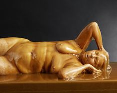 Naked People Dipped In Honey Make For A Truly Hypnotic Work Of Art (NSFW)