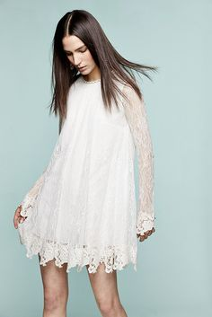 RACHEL ZOE Serafina Lace Baby Doll Dress