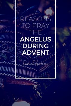 Make the Angelus your Advent devotion this year and prepare for the coming of the Lord on Christmas. Christmas Planning, Christmas Countdown, Advent Catholic, Why Pray, Christmas Gift For Your Boyfriend, Godly Play, Advent Activities, Advent Ideas, Advent Season