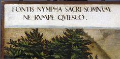 066 Fontis Nympha Sacri Somnum Ne Rumpe Quiesco: Ninfa de esta sagrada fuente, duermo; no rompas mi sueño#Thyssen140 pic.twitter.com/D3YRILGYWv
