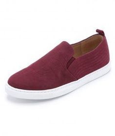 In the Pantone color of the year, these marsala slip-ons are not only right on trend, but they're also supremely lightweight. Tuck them in a tote bag for commuting or add them to your weekend rotation.
