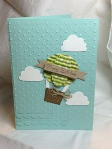 Stampin Up cupcake builder punch