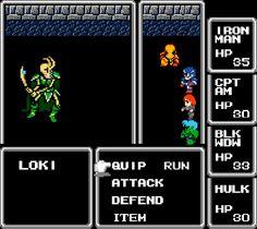 AVENGERS as Final Fantasy