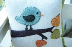 Birdie & Branches Pillow