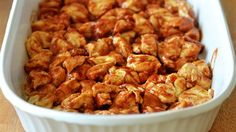 This bubble-up bake — featuring barbecue chicken, cheese and biscuits —is bound to be a hit.