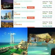 We Dare You To Try, To Beat Our Prices To Dubai  You Haven't Joined Yet, We Just Can't Figure Out Why !  Splurge Of The Day: Dubai....Your Price $1,270.00 OUR PRICE $612 !  We Only Pay $612.00 Now, Look Down, Go ahead... LOOK AT THE SAVINGS, Just Look We've Been Trying To Tell You, So NOW WE ARE SHOWING YOU WHY WE TAGGED YOU ! Dubai is a HOT SPOT. A Dream Destination, The Place To Be. It represents Wealth. Our Membership Club gets you THERE......  Don't Watch ANY LONGER, YOU MIGHT MISS THE…