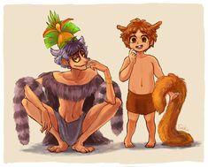 King Julien and Mort gizinka by sakutom on DeviantArt