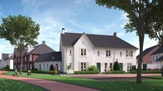 Grote Boel - Nijmegen, prijs €199.500,- tot €487.500,-, woonoppervlakte 117 m² tot 188 m².  In dit plan onderscheiden we drie typen woningen; vrijstaande woningen, twee-onder-één kap woningen en rijwoningen. De architectuur is vriendelijk opgezet en door de woningen met de bijzondere gevels krijgt het geheel een statige uitstraling. Wonen in Grote Boel is genieten van groen, water, rust en leven.