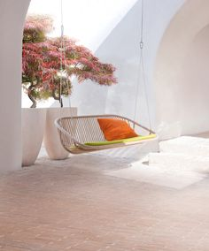 Sitting in a swing like this would send me drifting to a far away place.....in my mind :)