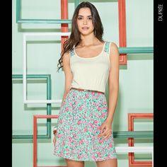 #Moda #Fashion #Women Dupree Colombia Fashion Women, Floral, Skirts, Slip On, Colombia, Ladies Fashion, Moda Femenina, Florals, Women's Fashion