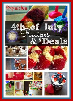 4th of July Deals and Recipes