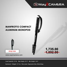 Deal of the week: get a Manfrotto Monopod at offer price. Compact, Accessories, Shopping, Jewelry Accessories