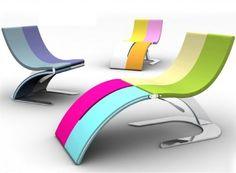 Lounge Chair Turns into Chaise Longue