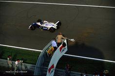 Damon Graham Devereux Hill (GBR) (Rothmans Williams Renault), Williams FW16 - Reault RS6 V10 3.5 (1ª terminado) 1994 Gran Premio de Italia, Autodromo Nazionale Monza © Williams Grand Prix Engineering Ltd. / LAT f1-history.devian...