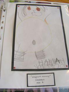 Storing and Organizing Children's Artwork