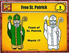 Free Saint Patrick Clip Art from Charlotte's Clips