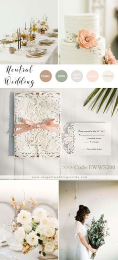 Adding a touch of sparkle to your wedding day will be one of the hottest trends. This delicate and elegant laser cut wedding invitation features a simple card with glitter gold layer paper. Colors and fonts can be customizabel. Get this for elegant fall winter wedding ideas Vintage Wedding Theme, Wedding Colors, Budget Wedding, Wedding Day, Ivory Wedding Invitations, Rose Gold Paper, Wedding Gifts For Bridesmaids, Unique Weddings, Wedding Details