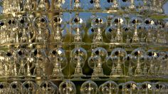 Luke Jerram solar powered chandelier   CribcandyThe Best from Household and Interior Design Blogs Around the World, Every Day