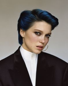 Léa Seydoux - Blue is the warmest color photoshoot