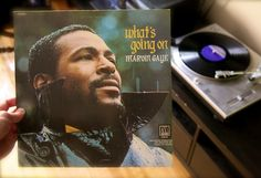 What's Goin On by Marvin Gaye. Tamla Records Feature the hits; What's Goin On, Mercy Mercy Me and Inner City Blues. Vinyl is in Very Good + condition and cover is in Very Good condition. Save on combined shipping on orders of two or more items. Marvin Gaye, Top 100 Albums, Great Albums, Bj The Chicago Kid, Newbury Comics, Pochette Album, Save The Children, Greatest Songs, Soul Music