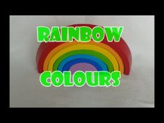 Learn the colours of a rainbow!