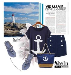 """Sailing!!"" by amrafashion ❤ liked on Polyvore featuring Laidback London and Miss Selfridge"