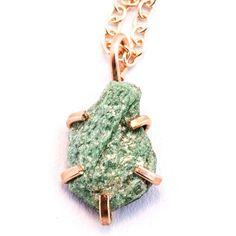 Fuchsite Claw Necklace / by Alana Douvros Jewelry