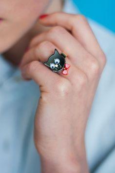 Tatty Devine Cat Ring £21