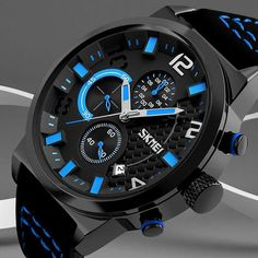 Watches Men Waterproof Solar Power Sports Casual Watch Man Mens Wristwatches Dual Time Digital Quartz Led Clock Men Relogios Neither Too Hard Nor Too Soft Digital Watches