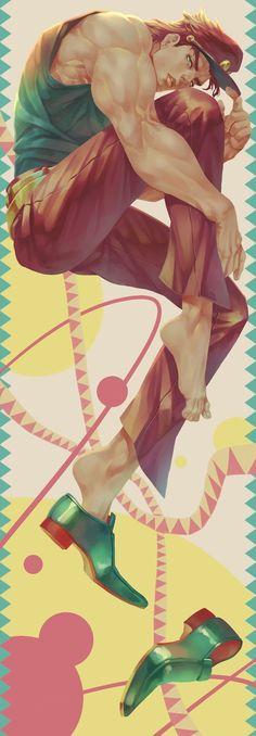 Jojo's Bizarre Adventure, Jojos Bizarre Adventure Jotaro, Jojo's Adventure, Anime Manga, Anime Art, Jonathan Joestar, Jotaro Kujo, Fanart, Another Anime