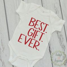 Newborn Christmas Outfit Baby Boy Christmas Outfit Baby's 1st Christmas Red White Christmas One Piece Infant Boy Christmas Best Gift