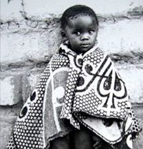 Shnu Tribal Products creates heirloom blankets in the Tribal Basotho tradition.