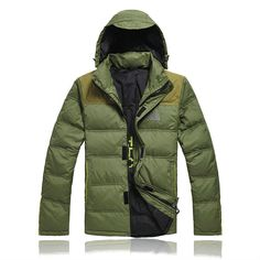 Mens The North Face Down Jacket Olive
