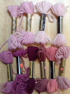 Paternayan Persian Wool Yarn Needlepoint Crewel Tapestry 10 Berry 8 Yd Ea L39