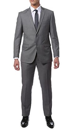 The ZNL solid color two piece slim fit suit from our Zonettie by Ferrecci line is the perfect look fortodays on the go working man. A smart, modern look that is perfect for formal and everyday business casual wear. Slim Fit Dress Pants, Slim Fit Trousers, Mens Fashion Suits, Mens Suits, Graduation Suits, Suits Direct, Herringbone Suit, Mens Kurta Designs, Gentleman's Wardrobe