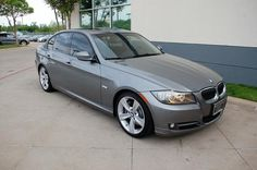 2009 BMW 335i Sedan Space Gray 300 hp 300 ft lbs torque I have different rims.