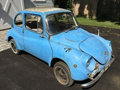 $2,990 Small Giant: 1970 Subaru 360 Deluxe - http://barnfinds.com/2990-small-giant-1970-subaru-360-deluxe/