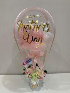 Balloon Gifts, Surprise Boxes & Decor for all occassions – Balloonit Balloon Basket, Balloon Gift, Balloon Garland, Air Balloon, Balloon Flowers, Balloon Bouquet, Birthday Balloon Decorations, Birthday Balloons, Diy Mothers Day Gifts
