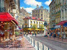 """Rue de Soleil""  by Sam Park"