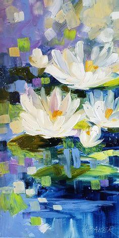 Acrylic Painting Flowers, Acrylic Art, Acrylic Landscape Painting, Abstract Acrylic Paintings, Landscape Paintings On Canvas, Art Paintings, Paint Flowers, Floral Paintings, Portrait Paintings