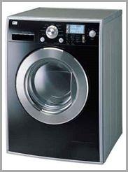 """Máquina de- lavar roupas frontal imagem integrante do Blog O Rescator no artigo """"A Máquina de Lavar de Bill Gates""""."""